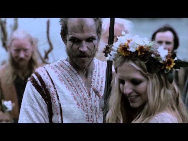 две свадьбы - языческая и христианская ( Викинги, 2 сезон)