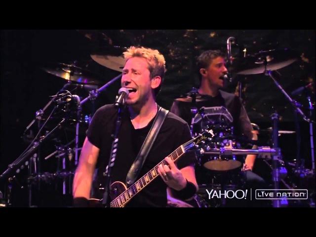 Nickelback Savin Me Live Nation