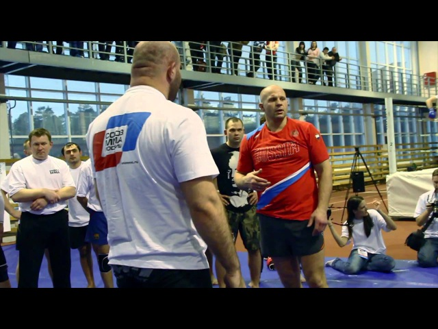Гильотина от Федора Емельяненко. Guillotine choke by Fedor Emelianenko