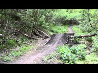 mini DownHill гора костирівка учебная траса смт.Ясіня