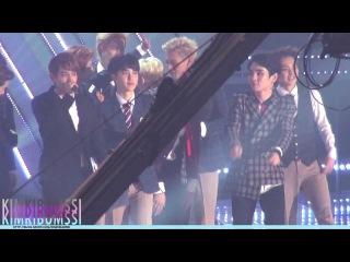 [HD fancam] 131114 Melon Music Awards SHINee 5 - 대상 수상 + ending