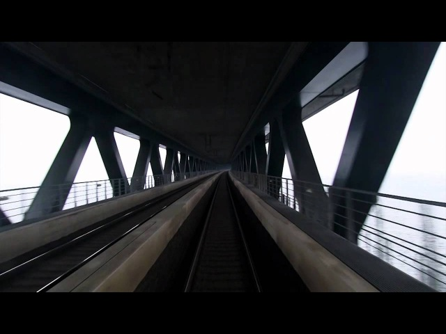 Train Driver's View Malmö to Copenhagen Part 1 of 2