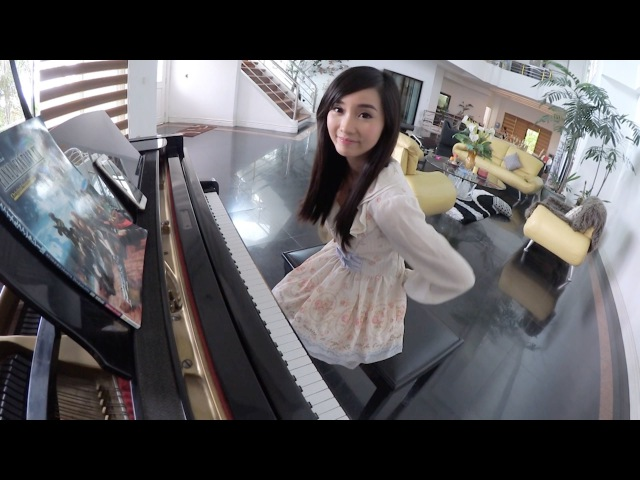 Big Hero 6 Immortals Fall Out Boy Piano cover by Alodia