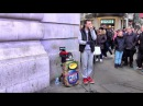 London Great Beabox Performance by Fredy Beats in Piccadilly Circus