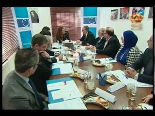 Королева Рания присутствовала на заседании Совета попечителей Королевского общества здравоохранения.