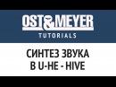 Ost Meyer Tutorials: Синтез звука в U-He - Hive