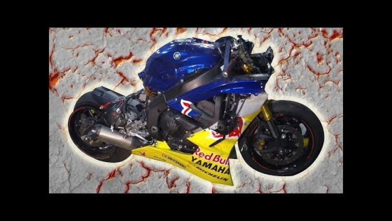 How to rebuild a Yamaha R6 - Réparation épave YAMAHA R6 pour usage piste