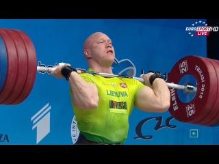 2015 European Weightlifting Championships 94 kg Men \ Тяжелая атлетика Чемпионат Европы