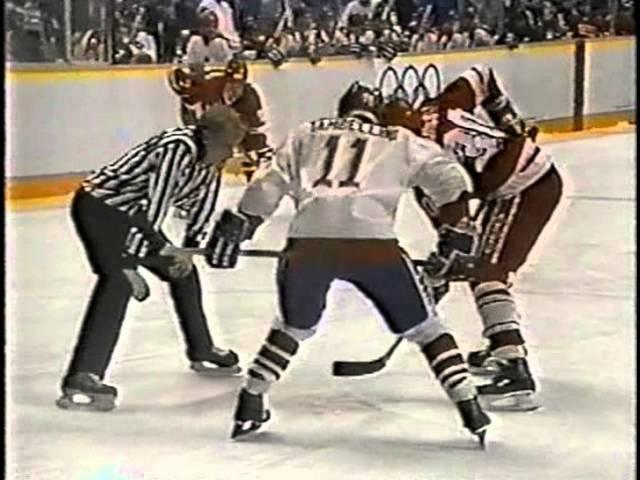Олимпийские игры 1988 года, Калгари, СССР-Канада, 3 период