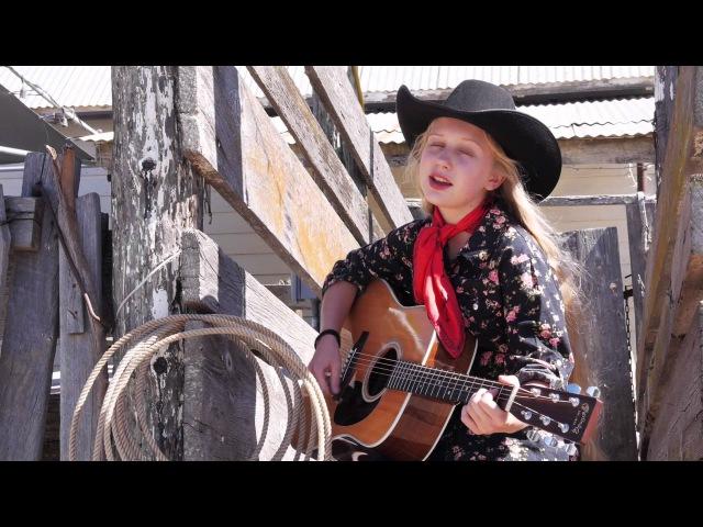 15 Year Old Amaya Rose sings: I Wanna Be A Cowboy's Sweetheart
