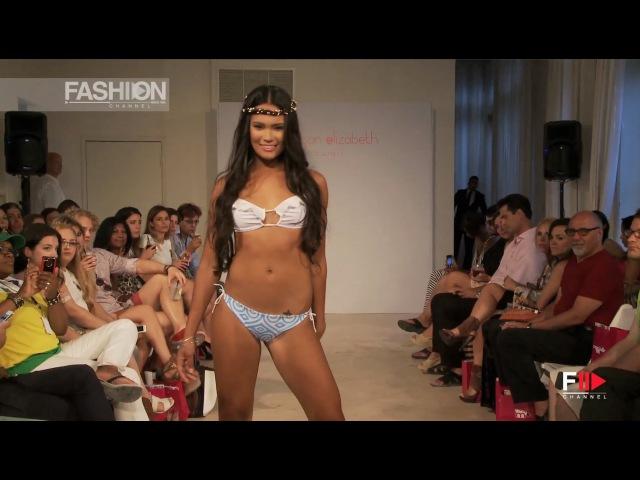 MEEGAN ELIZABETH HAWAII HOUSE Miami Fashion Week Swimwear Spring Summer 2015 HD by Fashion Channel