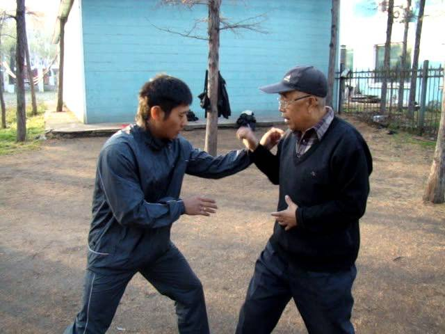 With kungfu grandmaster Синъицюань мастер Ян Юйчен Ляньхуаньпао