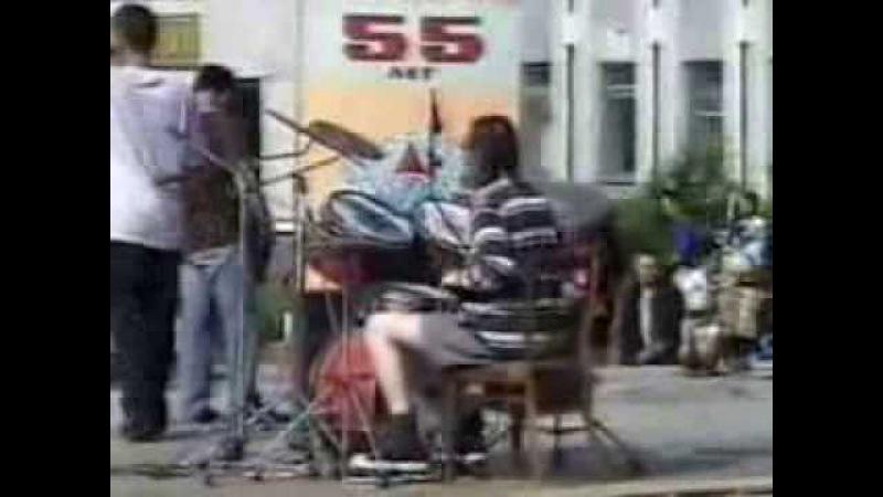 Концерт День Молодежи 2001 Алапаевск (Ж Зенков и co, Комарекс Слепни)