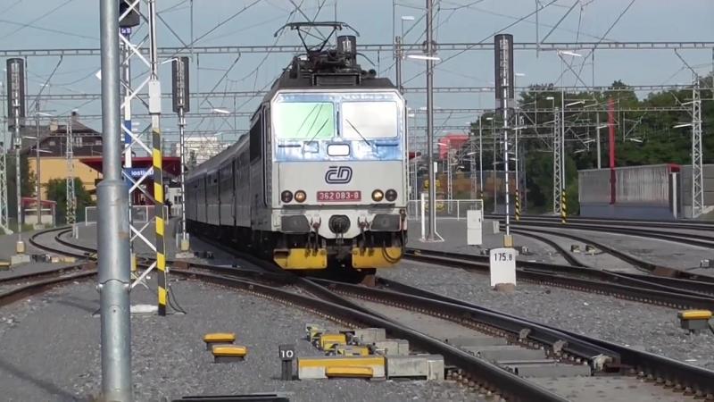 Zeleznice - Vlaky na pochod Praha - Prcice 2016