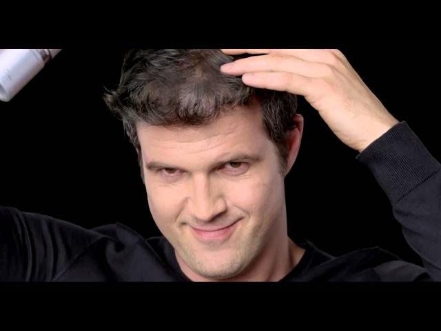 Презентация спрея-загустителя для редеющих волос