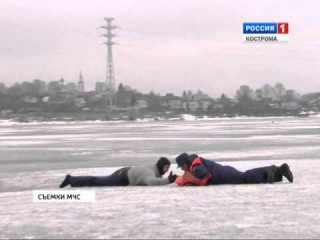 На реках Костромской области начался подъем воды: есть первый случай подтопления
