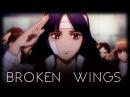 [AMV] Gintama | Broken Wings | Farewell Shinsengumi Arc