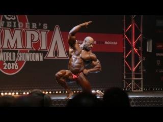 IFBB Pro Декстер Джексон. Гостевое позирование на Любительской Олимпии 2016 в Москве