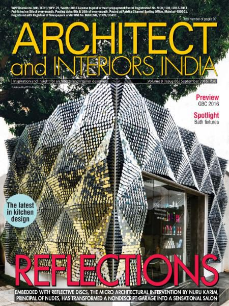 Architect and Interiors India - September 2016