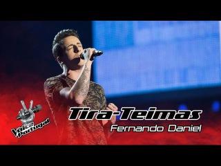 Fernando Daniel – Dancing on my own | Tira-Teimas | The Voice Portugal