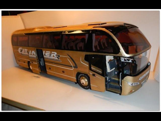 DJ Merja Music 21 Neoplan Vip Class Cityliner N1216 HD 1 24 Revell