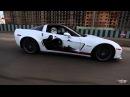 На Corvette ZO6 по родному Иркутску! Мускулы на Русских дорогах!