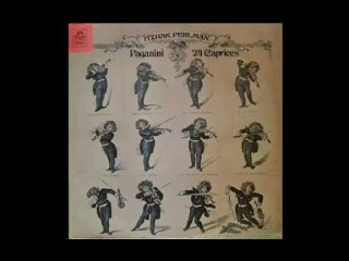 Niccolo Paganini - 24 Caprices Op.1