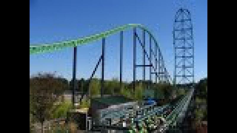 Провалился пол 2 Six Flags Great Adventure Kingda Ka