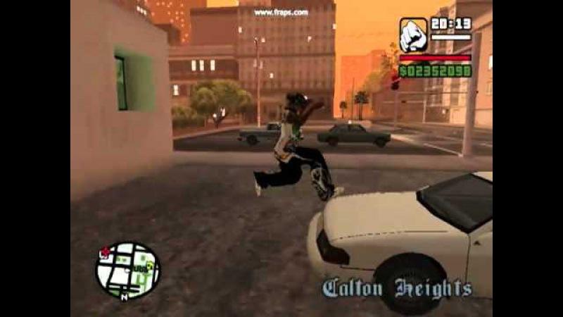 GTA San Andreas B 13 NFS: Паркур Карла