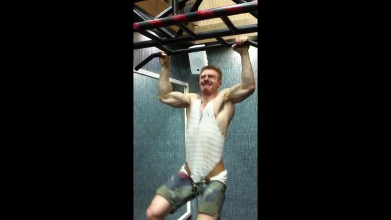 Подтягивания с 40 кг Андрей Кировский