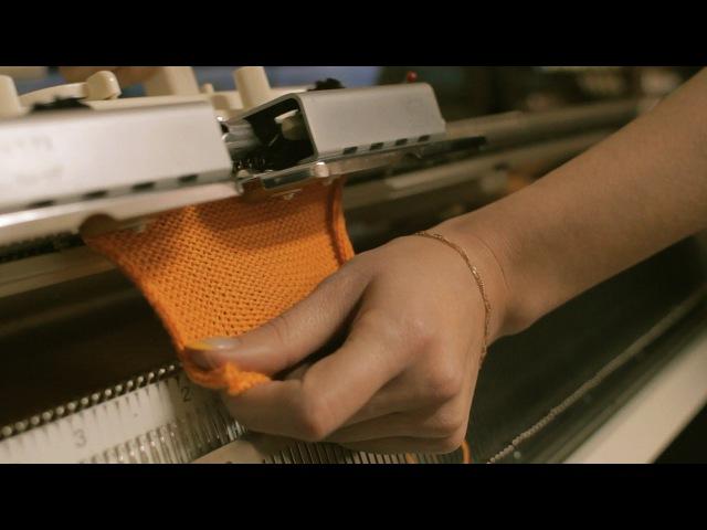 Машинное вязание Урок №1 - Автоматический набор петель