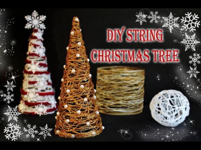 DIY String Christmas Tree