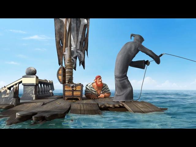 Dji Death Sails смешной мульт про моряка и смерть