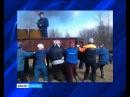 Jyškyjärven kylän kul'tuurutaloi pahasti paloi