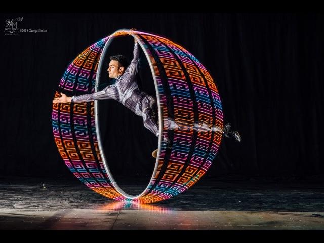 Volta Wheel David Matz LED Cyr Wheel