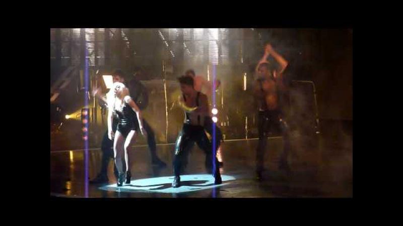 Lady Gaga Teeth Monster Ball LIVE Montreal 2009 HD