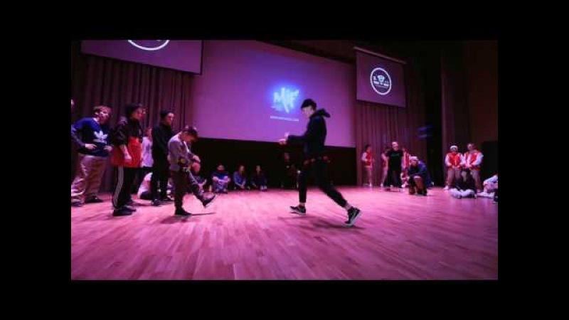 Kid Ninetailz aka Yoof(win) vs Никита Гайдуль(14)(Mif 2015,Hip-Hop begginers)