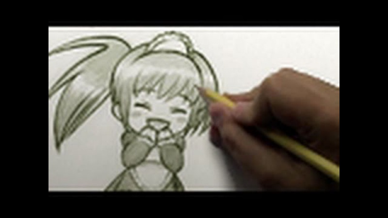 How to Draw a Happy-Cute Chibi [HTD Video 4]