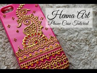 DIY Henna Art Phone Case | Hennafly