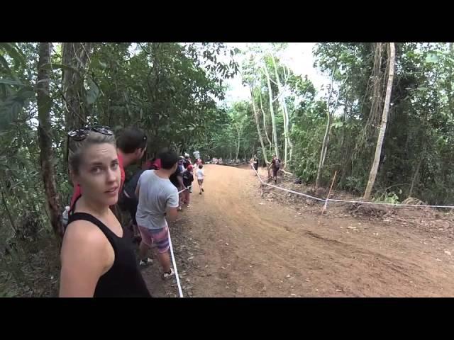 Adam Brayton UCI DH Cairns Crash