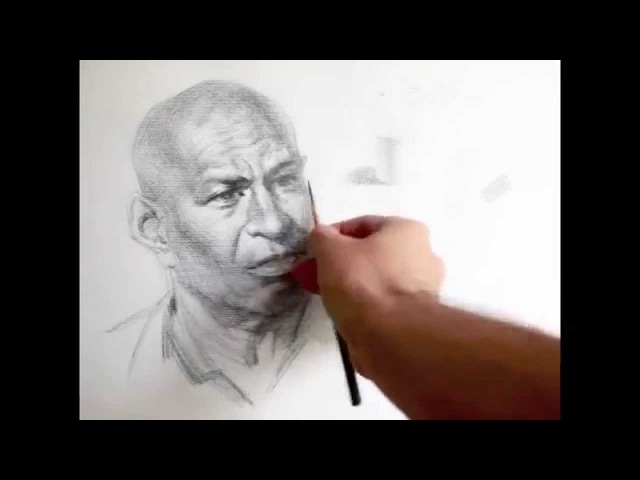 Crosshatching drawing Lecture and demo by Zimou Tan