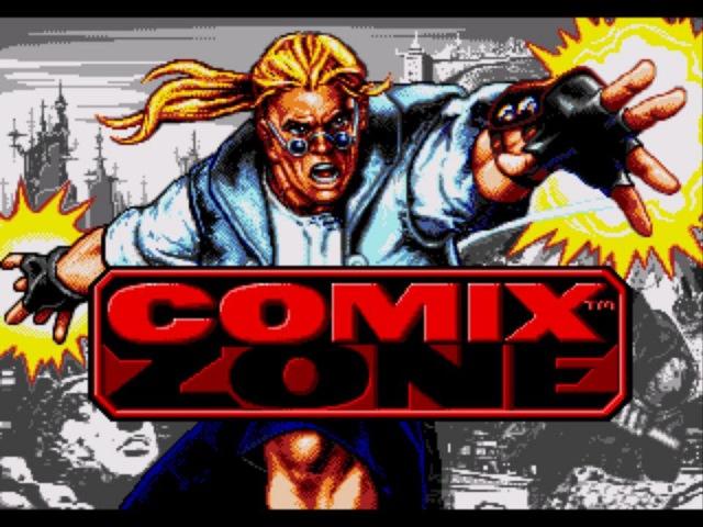 Comix Zone gameplay Полное прохождение