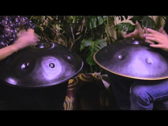 LUMI Handpan Duo Luca Bertelli Mumi on HANG PANArt and Asachan Handpan
