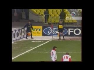 Лига Чемпионов 2000/01. Спартак (Москва) - Арсенал (Англия) - 4:1 (1:1).