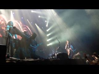 Nightwish - Ghost Love Score (Начало песни Воронеж 18 05 2016)