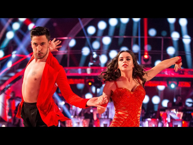 Georgia May Foote Giovanni Pernice Cha Cha to 'I Will Survive' Strictly Come Dancing 2015