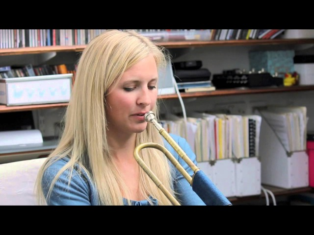 The OHMI Trust Alison Balsom talks about the Trumpet