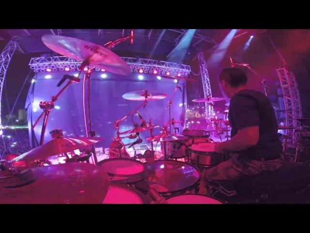Korn BLIND 2015 with fill in drummer Abel Vallejo