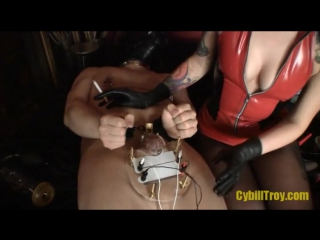 Cybill troy - electro-torture chastity tease