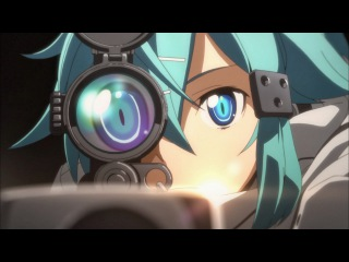 [AMV] Sword Art Online 2 #Sinon in GGO - Runnin
